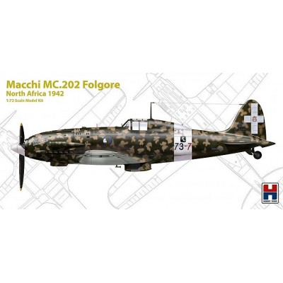 "1/72 Macchi MC.202 Folgore ""North Africa 1942"" - Limited..."