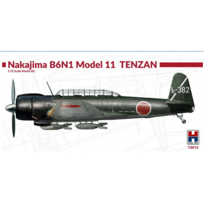 1/72 Nakajima B6N1 Model 11 Tenzan - Limited Edition