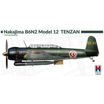 1/72 Nakajima B6N2 Model 12 Tenzan - Limited Edition