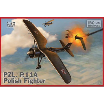 1/72 PZL.11A - Polish Fighter